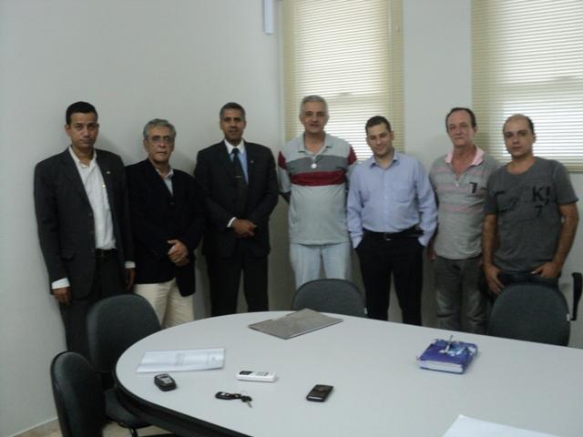 Delegado Regional do RJ, Roberto Pereira visita Município de Cambuci - RJ