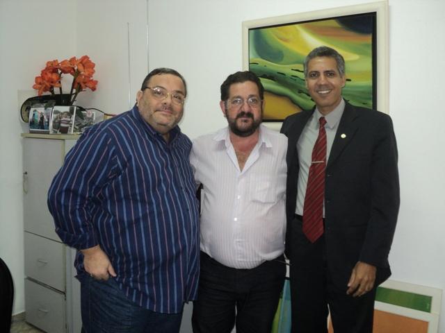 Delegado Regional do RJ, Roberto Pereira visita município de Calçado - RJ