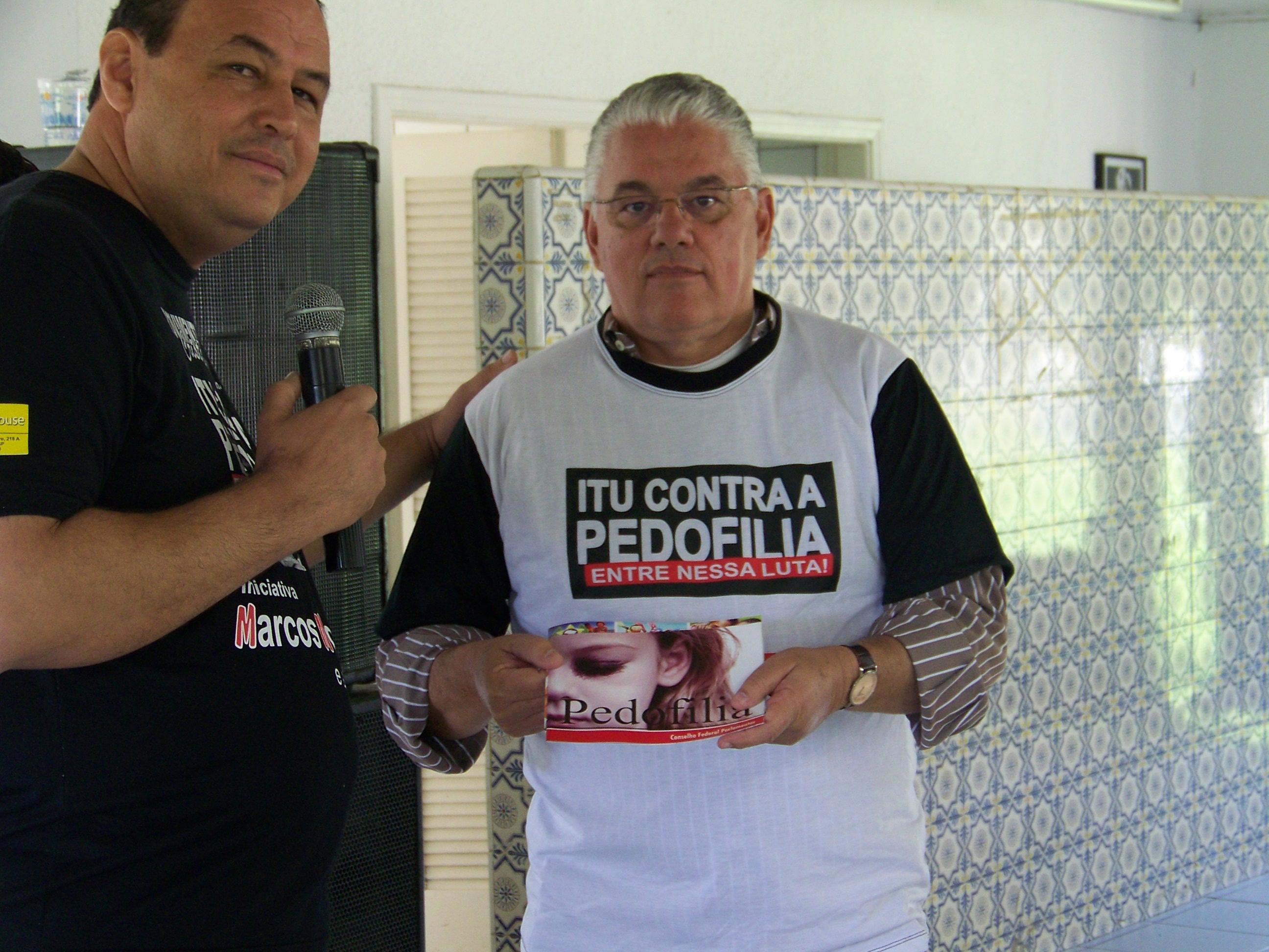 CONFEP realiza palestra sobre pedofilia em Itú - SP, por iniciativa do nosso Delegado Adjunto o ex-vereador Marcos Moraes .