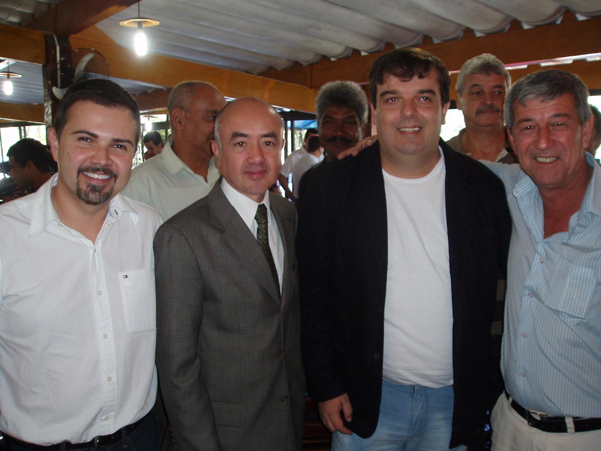 CONFEP visita presidente da Câmara Municipal de Bertioga - SP