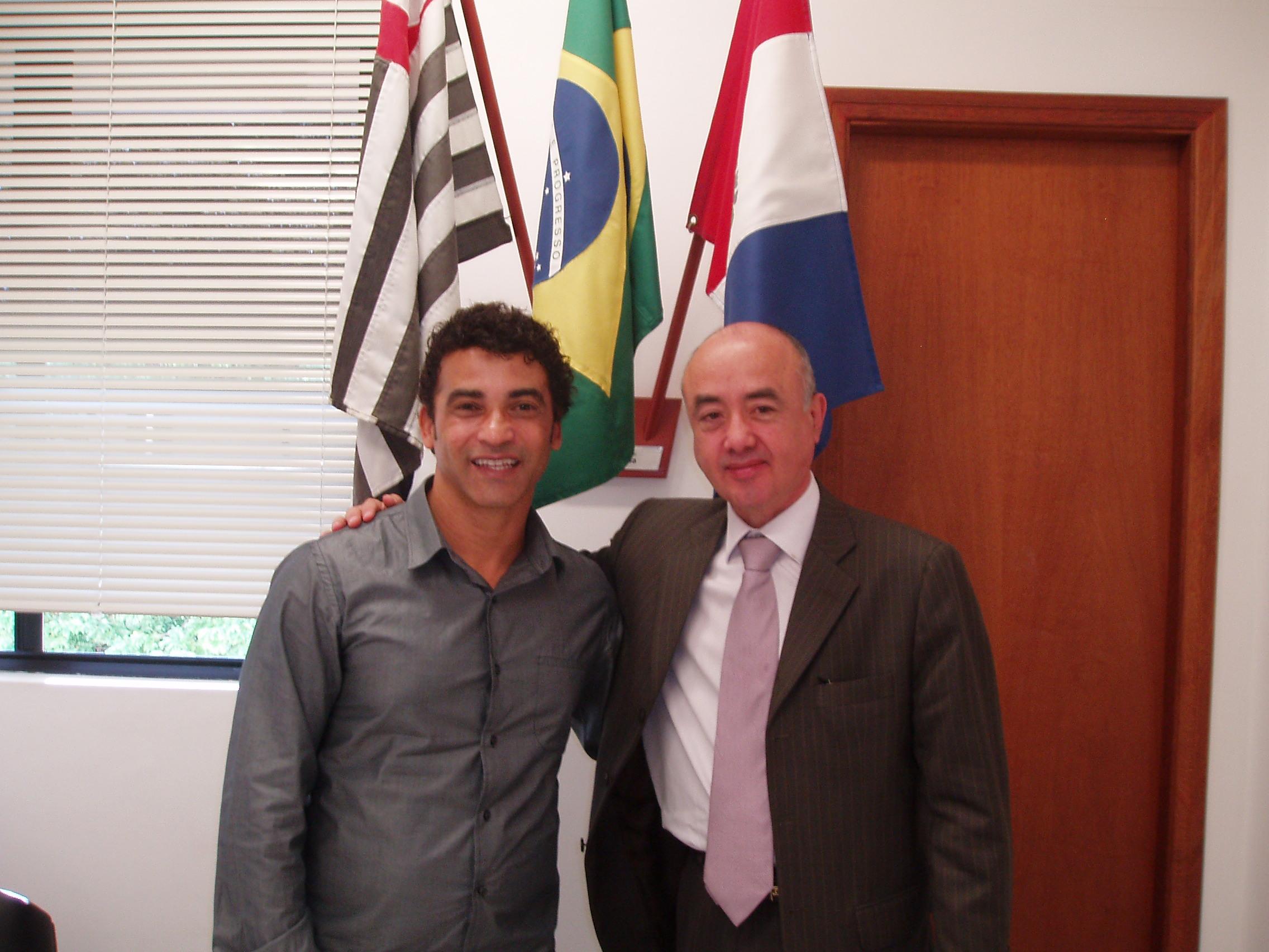 CONFEP visita a Câmara Municipal de Indaiatuba - SP, por meio do chefe de gabinete do CONFEP Joaquim Carlos Pereira e é recebido pelo vereador Gervásio