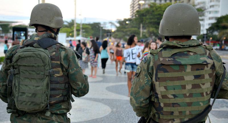 Forças Armadas e Força Nacional participam de operação no Rio de Janeiro