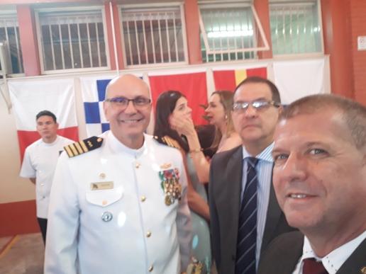 DR. ALBERTO PARTICIPA DE TRANSMISSÃO DE CARGO NO HOSPITAL NAVAL DE BRASILIA