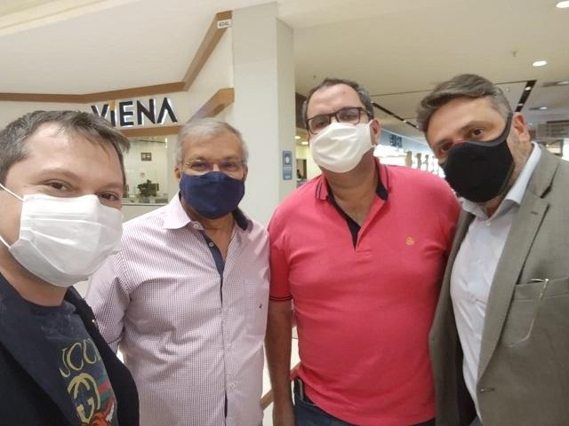 DR. CAIO BARTINE - PROCURADOR CHEFE DO CONFEP, RECEBE POLÍTICOS DO PARÁ